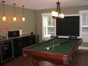 carver game room addition